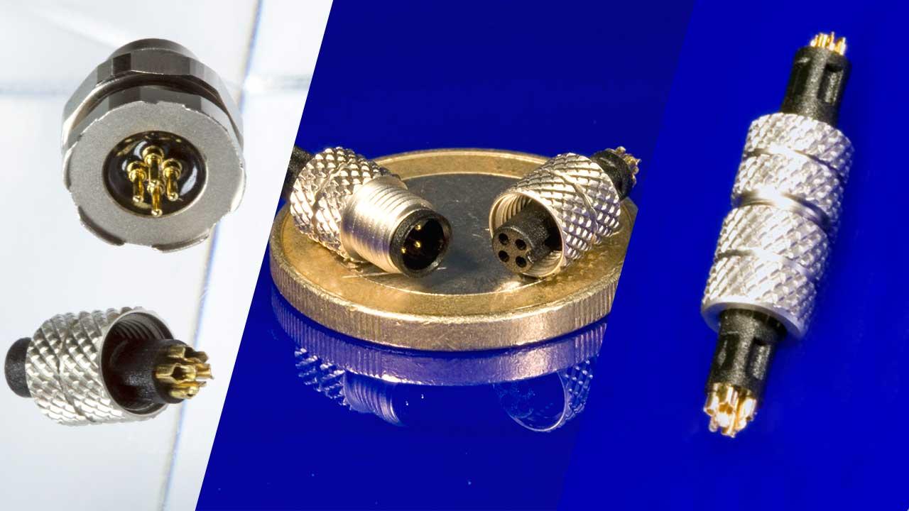 Rundsteckverbinder -I/O-Stecker