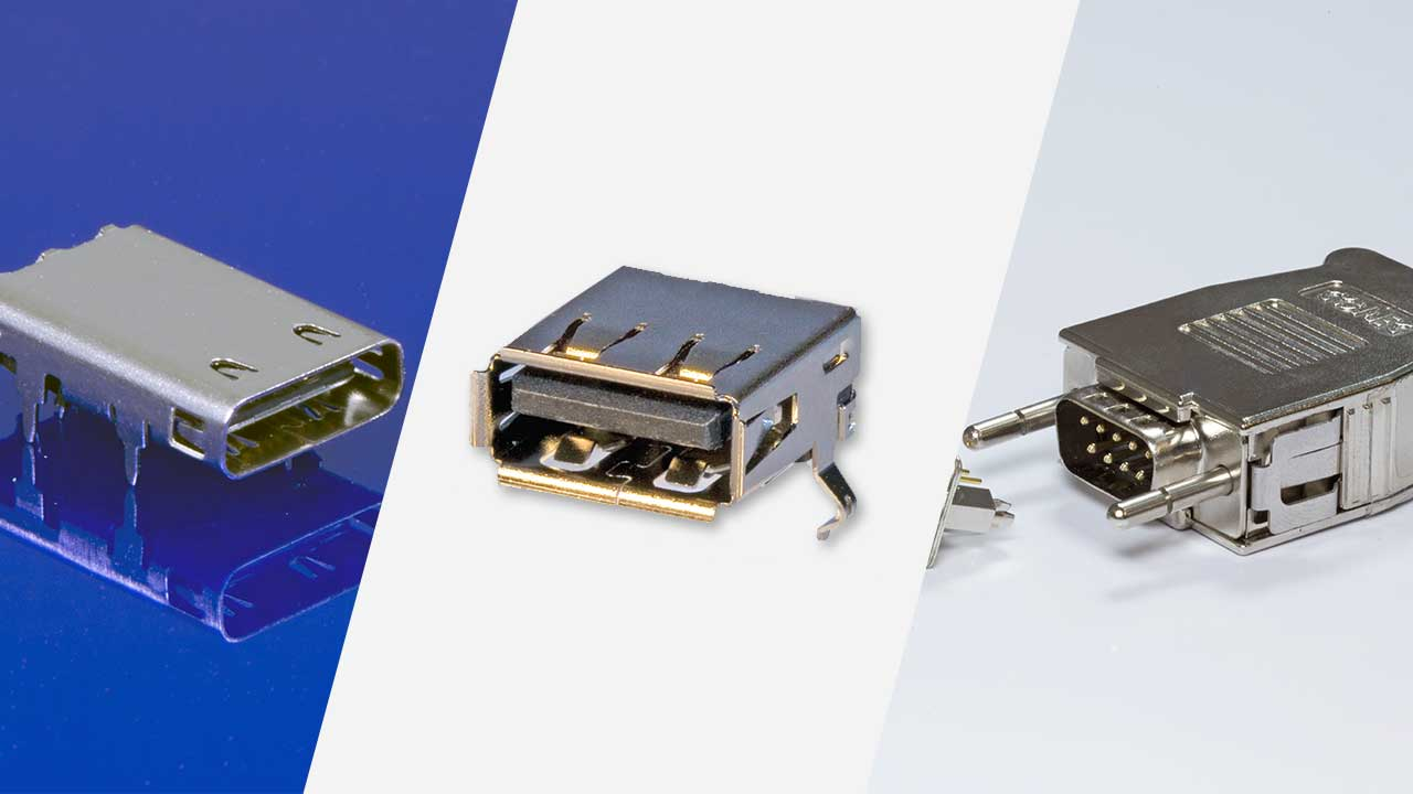 Daten & Singalsteckverbinder - Input / Output